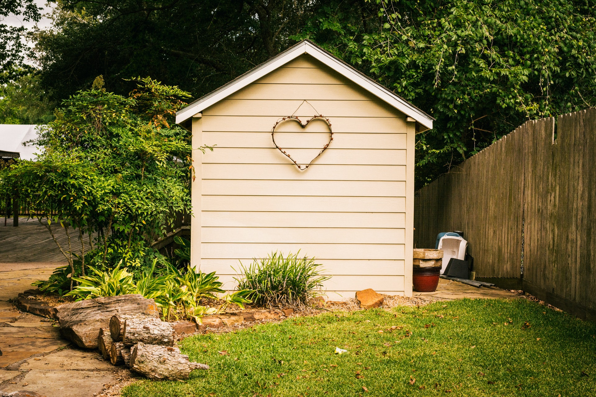 Maintaining outside of your house